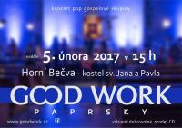 Gospelový koncert skupiny Good Work